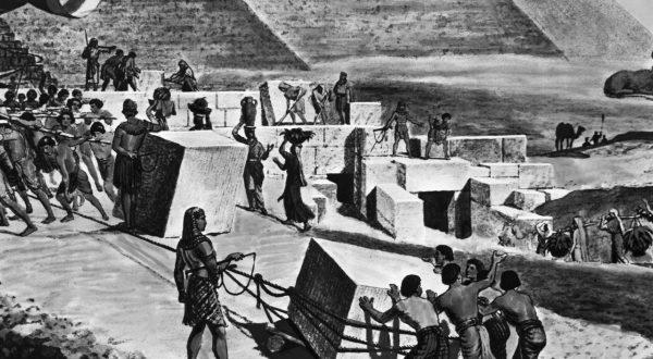 Zablude u koje verujete Robovi gradili piramide